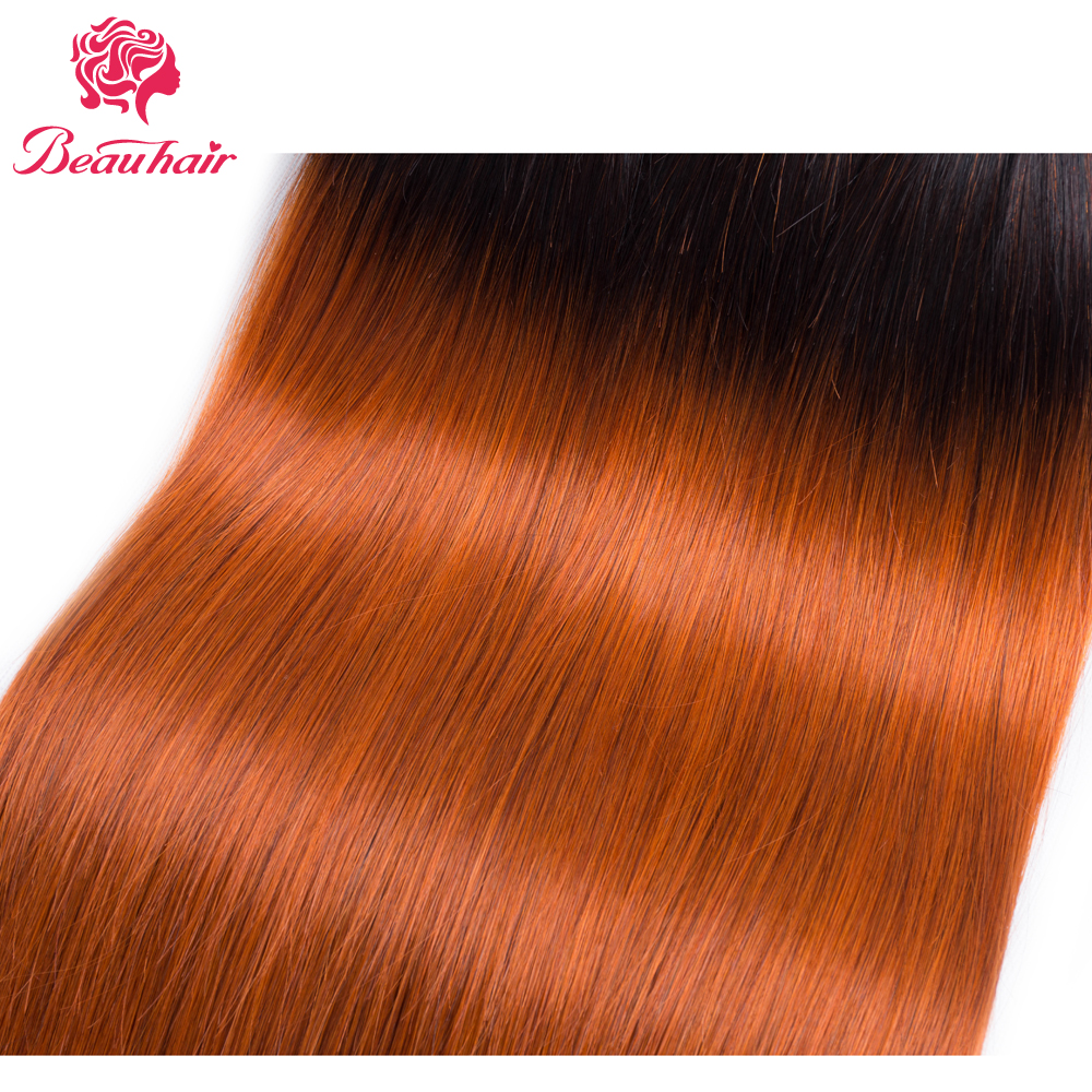 Aliexpress Buy Beau Straight 2 Human Hair Bundle T1b350 Hair