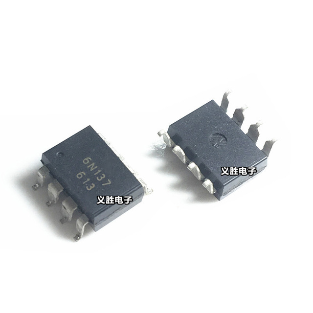 10pcs/lot 6N137SD 6N137S 6N137 SOP-8 New Original In Stock