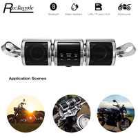 Motorcycle MP3 Player Speaker Bluetooth Music FM Radio Waterproof Adjustable Bracket Motorbike Audio Stereo