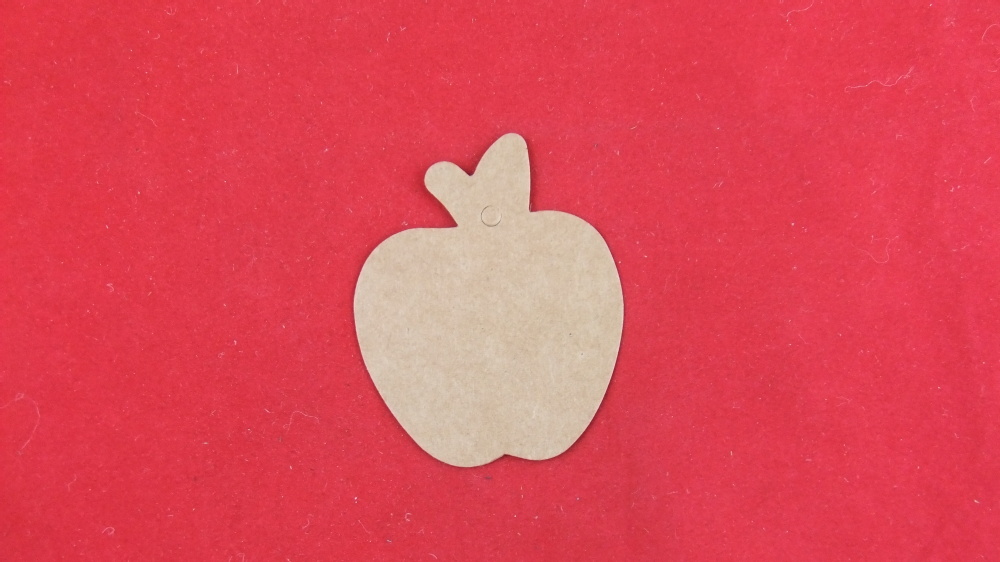Крафт-бумага, яблоко, индивидуальная нестандартная бирка, Подарочная бирка, креативные бирки DIY