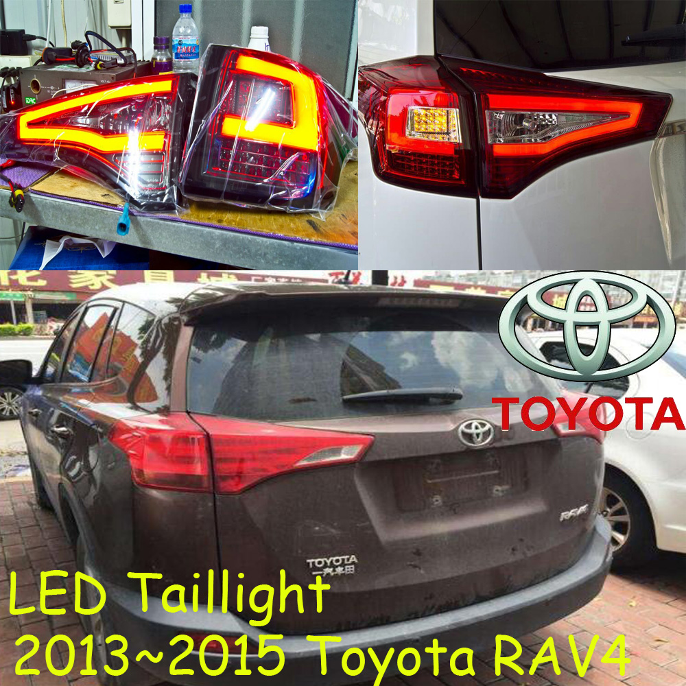 RAV4 Tail light,Fit for 2013 2014 2015year,led,Free ship!4pcs,RAV4 tail lamp;car-covers,RAV4 taillight,Chrome,RAV 4 car styling rav4 taillight 2009 2012 led free ship 4pcs set rav4 fog light car covers chrome car detector rav4 tail lamp rav 4