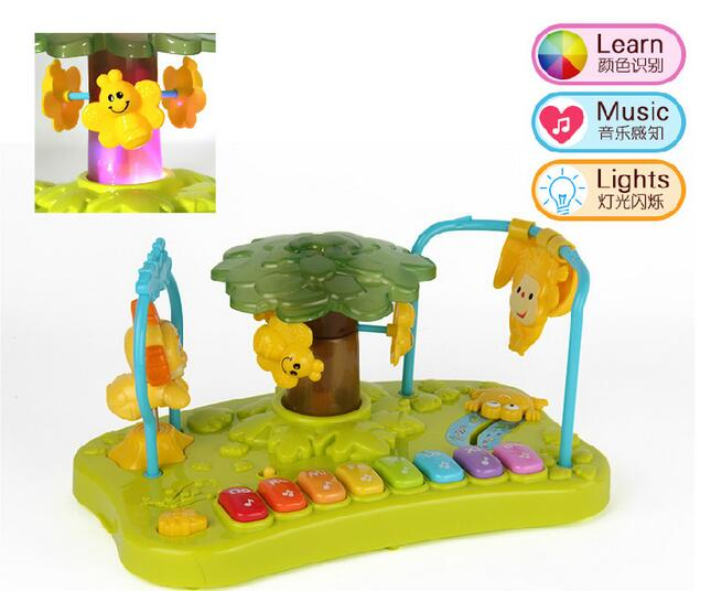 Musique éducatif apprentissage Animal clavier développement enfant musique jouet pour bébé Mini Piano jouet
