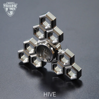 Magic Shark Hive Hand Spinner Original Design Fidget Spinner Metal Adult Toys Top Quality Torqbar Tri