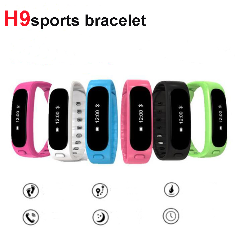 Newst H9 Smartband Pedometer Fitness Tracker Sleep Monitor Call Reminder Sport band For Android IOS Phone