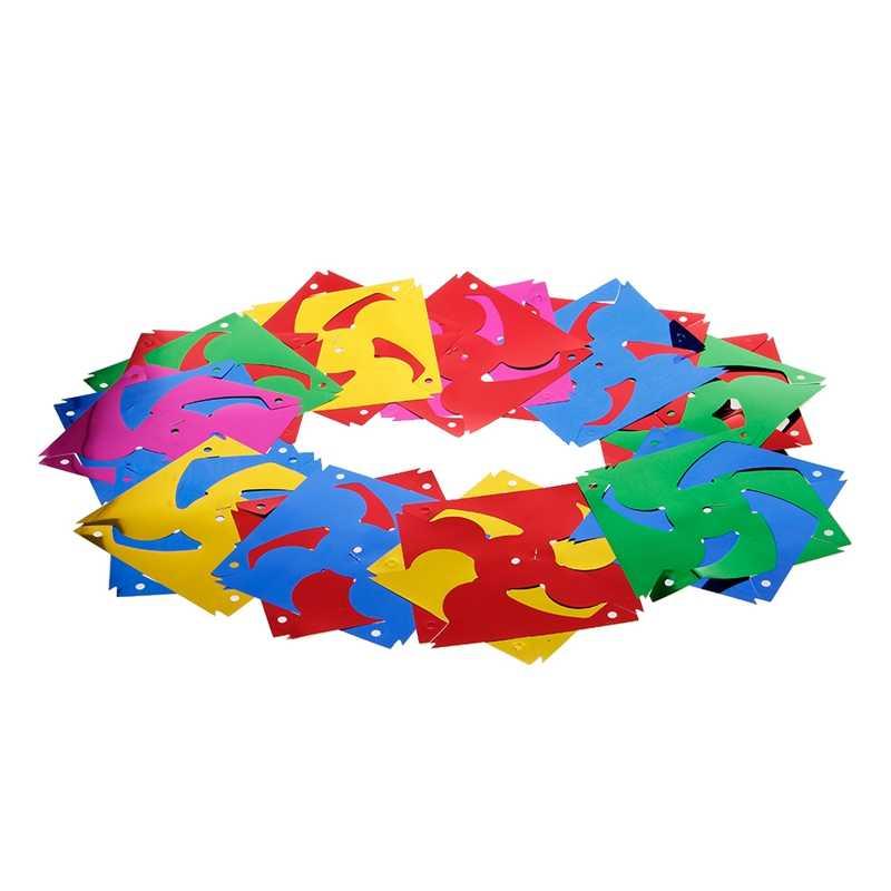 ГБД 10 шт. Пластик мельница вертушка ветра счетчик детские игрушки сад газон вечерние Декор