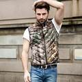 VXO MEN 90%  down Jacket  Autumn & Winter Waistcoat Camouflage Down Vest Men  Warm Duck Down  Coat Gilet Hunt  Coat & Jacket