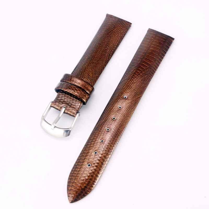 """מבריק מבריק שעון שחור Watchbands עור רצועת שעון להקת 12 מ""""מ 14 מ""""מ 16 מ""""מ 18 מ""""מ 20 מ""""מ 22 mmWristband שעון אביזרי Wristbands"""
