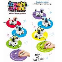 Lighting Toys Children Music Toys Inductive Electronic Dogs Robot Dog Toy Discoloration Electronic Pet For Kids Baby gifts