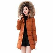 2019 Fashion Plus size Down jacket Women White duck