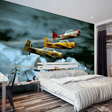 Custom Poster Printing Modern Art Mural Fighter Airplanes