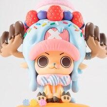 Аниме one piece Тони Чоппер Candy экшн фигурка Juguetes one piece 15th Фигурки Коллекционная модель игрушки 11 см