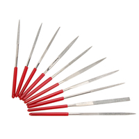 10pcs/set High Quality Guitar Crowning Luthier Files 14.5cm/5.7