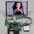 HDMI + VGA $ number AV tablero de conductor del LCD + 7 pulgadas 1280*800 IPS HSD070PWW1-B00 panel lcd + Remote