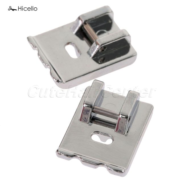 Hot Sale 40Pc Domestic Sewing Machine Presser Foot Metal Double Best Piping Foot For Juki Sewing Machine