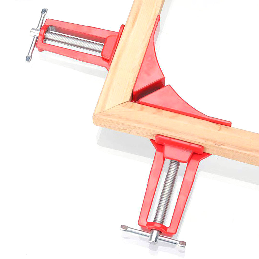 ZJCOSTOL Reinforced 90 Degree Right Angle Clamp Corner Clamps For Aquarium Fishtank Glass Wood Picture Holder Woodworking Tool