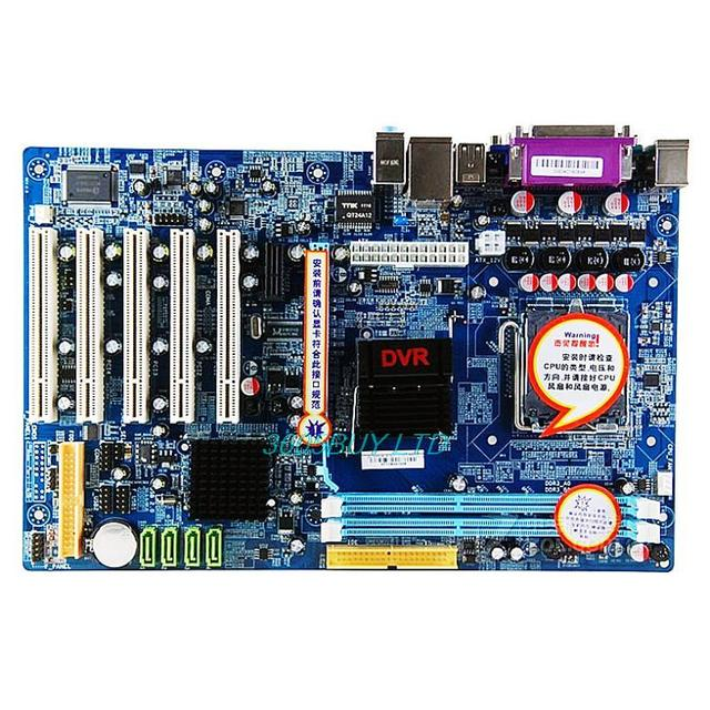 ZL-DVRG41A-X11 monitoring motherboard G41 LGA775 Onboard IDE/5 PCI slots 3 years warranty