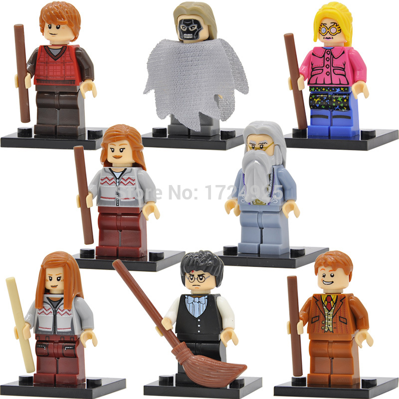 Harry-Potter-Figure-Hermione-Ginny-Ron-Weasley-Lord-Voldemort-Draco-Malfoy-Luna-Snape-Building-Blocks-toys-for-children-1