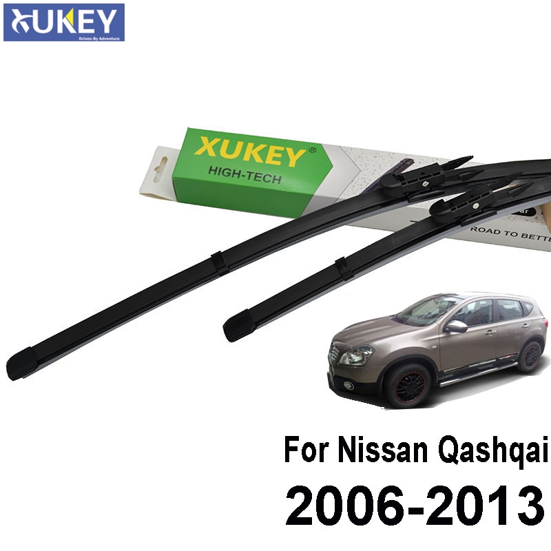 Xukey Windshield Windscreen Wiper Blades For Nissan Qashqai J10 2007 2008 2009 2010 2011 2012 2013 Front Window Wipers