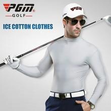 PGM футболки для гольфа тонкая спортивная рубашка с длинными рукавами Мужская одежда для гольфа майка для гольфа одежда для гольфа для мужчин размер m-xxl