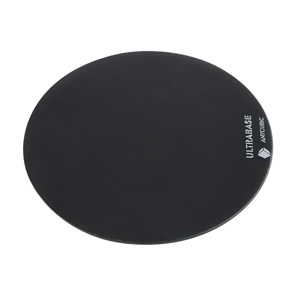 Diámetro 240mm/200mm hotbed plataforma Ultrabase placa de vidrio de superficie de construcción redonda para cualquier polea cúbica/Linear Plus Kossel 3D impresora