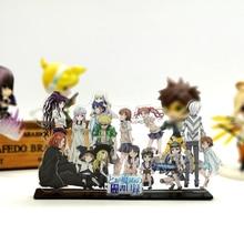 Buy Love Thank You Toaru Majutsu no Index Toaru Kagaku no Railgun family acrylic stand figure model plate holder cake topper anime directly from merchant!