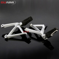 Motorcycle Rear Passenger Foot Peg Bracket Foot Rests Accessories For BMW R1200GS LC ADV R 1200 GS Adventure 2014 2015 2016 2017