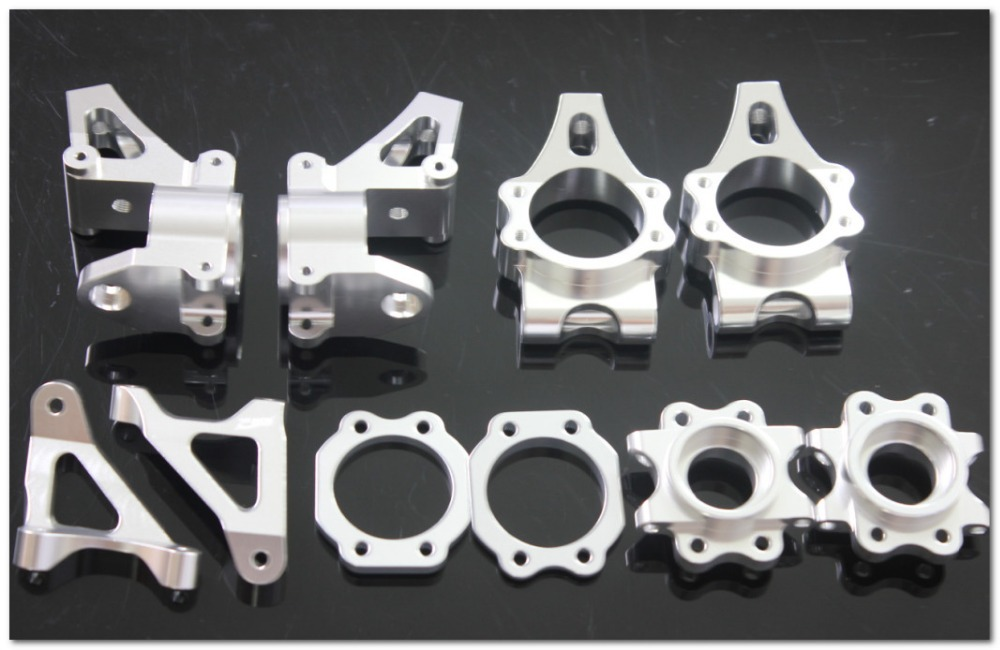 baja CNC alloy hub carrier set