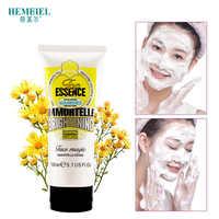 HEMEIEL Helichrysum Brilho Espuma de Limpeza Hidratante de Controle de Óleo de Limpeza Profunda Cravo Acne Tratamento Facial Lavagem