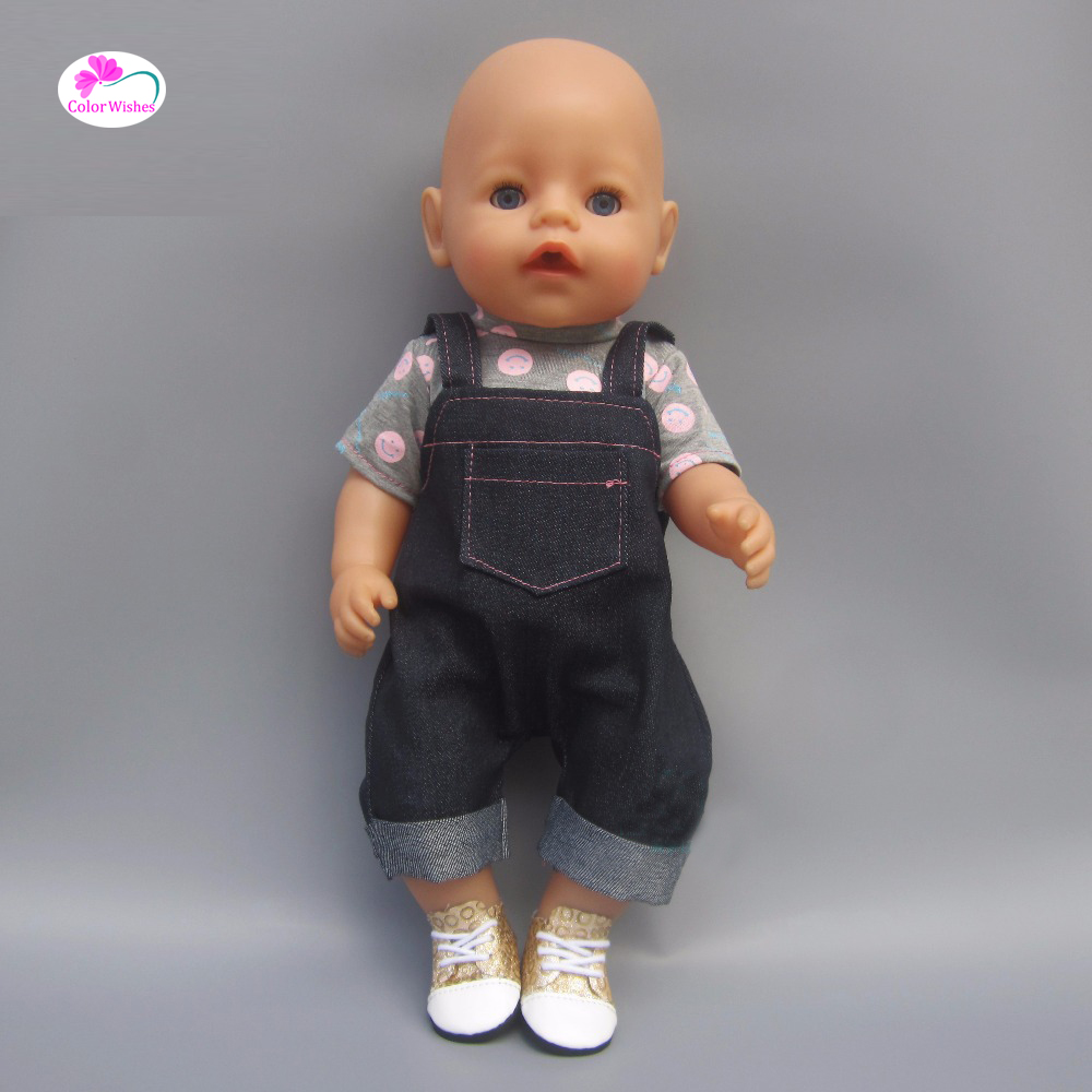 Clothes for dolls fits 43 cm Baby Born zapf doll for Child s Christmas present
