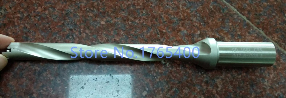 New 1pcs SD10H-218-XP25  Spiral groove Spade Drills Bit , Drill diamter accept 17.6-24.4mm,U drill Tool сумка kate spade new york wkru2816 kate spade hanna