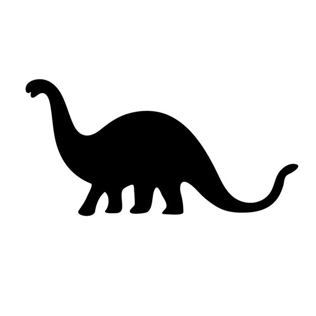 Late Jurassic Brontosaurus Wall Sticker Baby Room Home