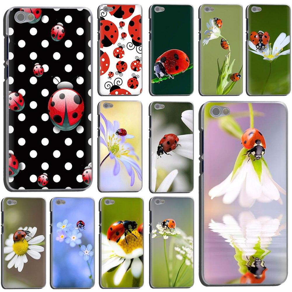 Жесткий чехол для телефона с божьей коровкой и насекомыми для Xiaomi Redmi 5 Plus GO 6A S2 Note 8 5 6 7A Pro 4x K20 pro