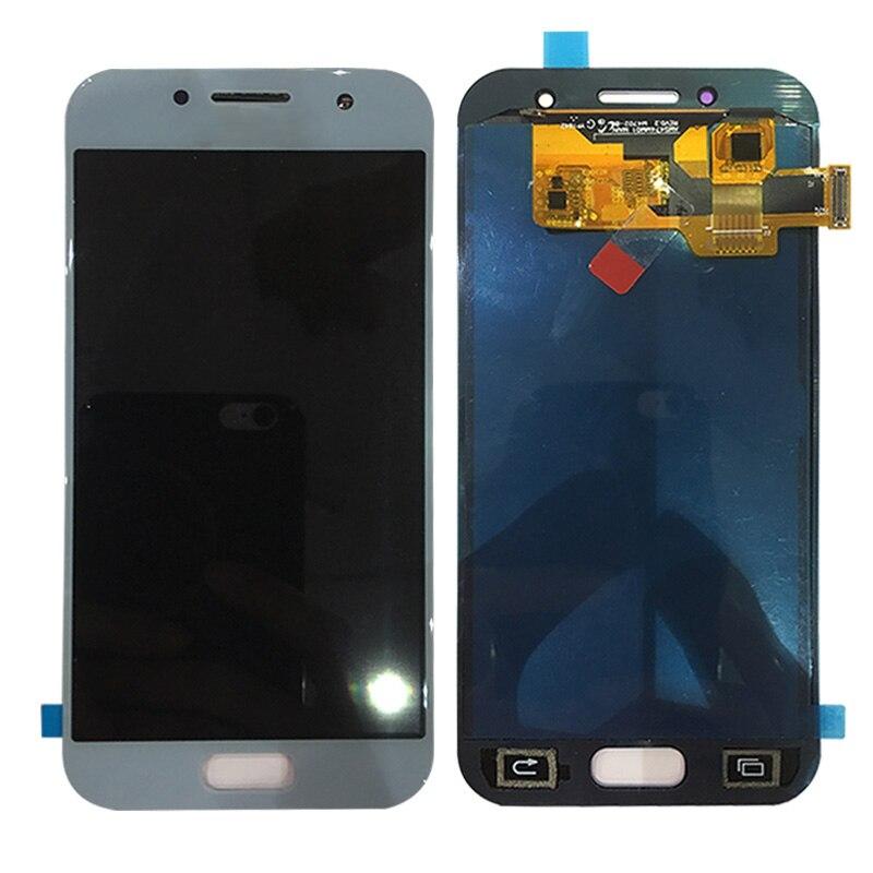 Pas de capteur de rétro-éclairage pour Samsung Galaxy A3 2017 LCD A320 SM-A320F A320F LCD écran tactile numériseur assemblée