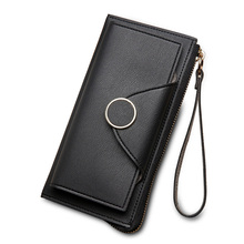 Women High Quality Leather Long Wallet (6 colors)