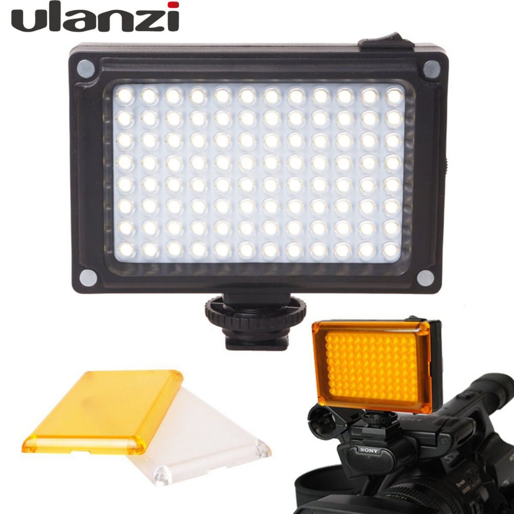 Ulanzi Arilight Rechargeable LED Video Light on DSLR Camera with Filters LED Lamp for Video Blog Youtube for Canon Nikon DSLR ручной фонарик blog 14 led slt p009