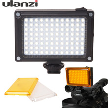 Ulanzi Arilight Rechargeable LED Video Light on DSLR Camera with Filters LED Lamp for Video Blog Youtube for Canon Nikon DSLR