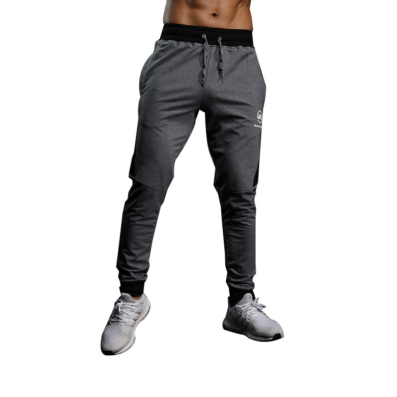 2019 Fashion Mens Pants New Solid Color Casual Soft Elastic Cotton Skinny Sweatpants Bodybuilding Pencil Trousers Gyms Clothing