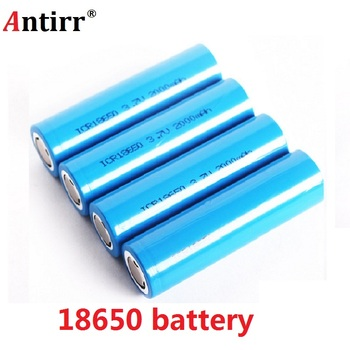 Original 18650 2000mAh Rechargeable Batteries 3.7V discharge 20a 18650 Rechargeable Li-ion Battery for Flashlight free shipping