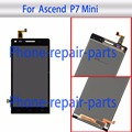 Black Full LCD Display + Touch Screen Digitizer Glass Assembly For Huawei Ascend P7 Mini