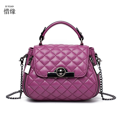 XIYUAN BRAND High quality women handbags sheep leather bags ladies brand hobos shoulder bag vintage crossbody bags for women red xiyuan brand ladies beautiful and high grade imports pu leather national floral embroidery shoulder crossbody bags for women