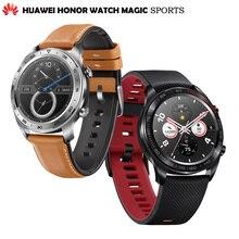 Оригинальный huawei Honor часы Magic открытый Смарт sleek тонкий длинный срок службы батареи gps научный тренер Amoled цвет 1,2 для мужчин