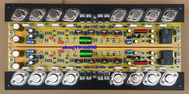 ZEROZONE One Pair Assembeld 80W 80W Class A Power Amp Board Bare On KRELL KSA 100