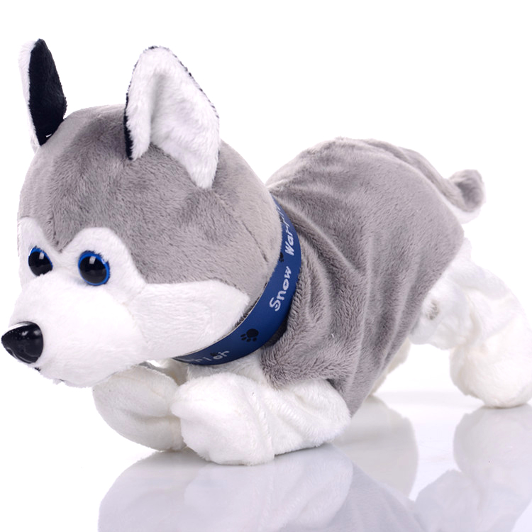 child Plush electric Toy dog Voice activated dog Will call intelligent Dancing dog Simulation puppy remote control Mechanical