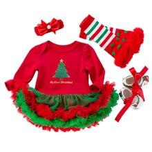 חג המולד תינוק תלבושות תינוק בנות בני Rompers יילוד בגדי ליל כל הקדושים דלעת סרבלי שמלת Cartoon מודפס תינוק Romper