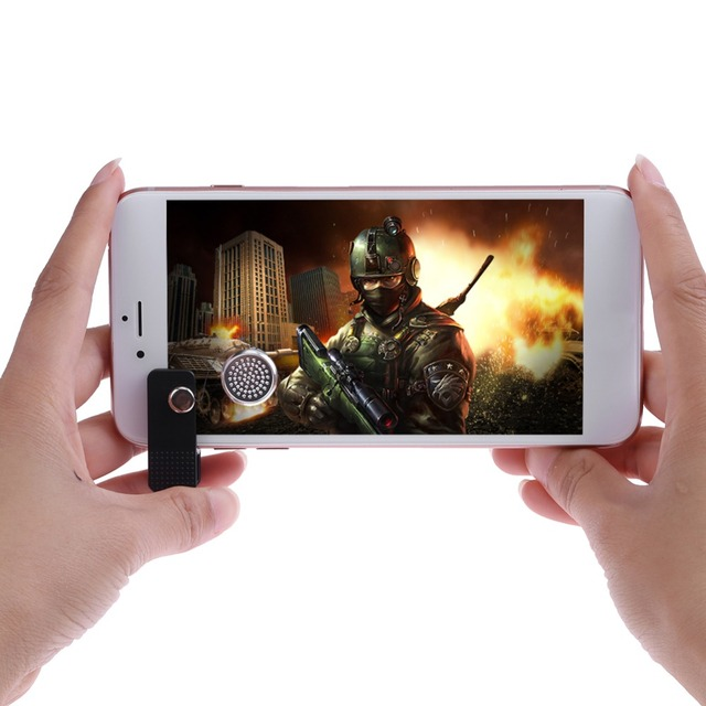 Mobile Phone Game Joysticks Rocker Joypad Touch Sreen Smartphone Button Control Gamepad Assist Tools High Quality Game Accessory