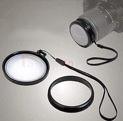 43mm vitbalanslinsfilterhatt med filtermonterad WB för - Kamera och foto
