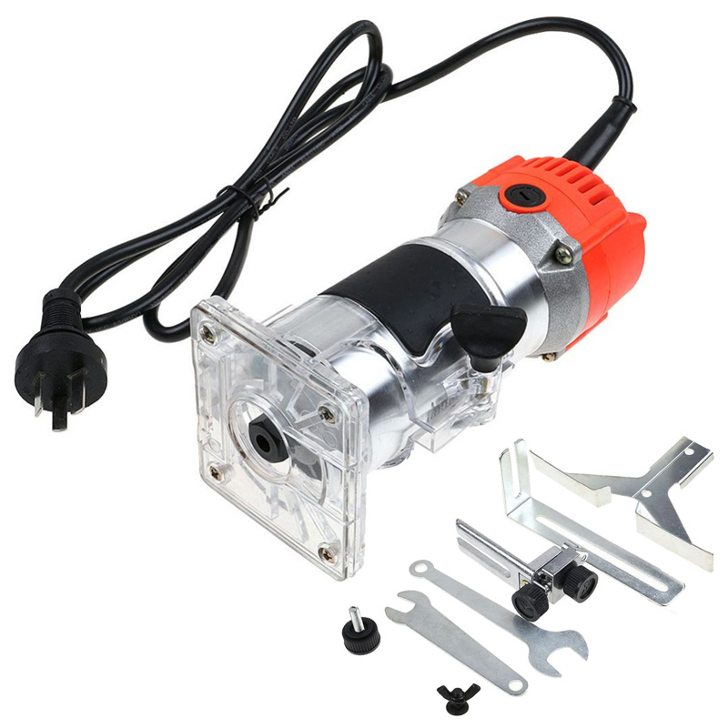New 30000RPM Electric Hand Trimmer Wood Laminate Palm Router Joiner Tool Machine