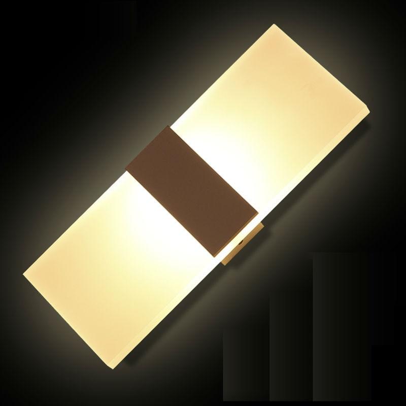 Lâmpadas de Parede luz estudo foyer decoração arandela Direção da Sombra : Acima & Abaixo