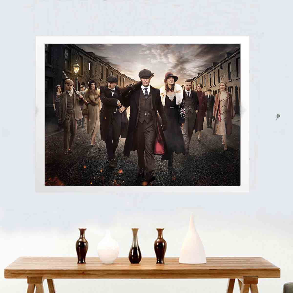 Peaky Blinders TV Show Art Silk Poster 8x12 12x18