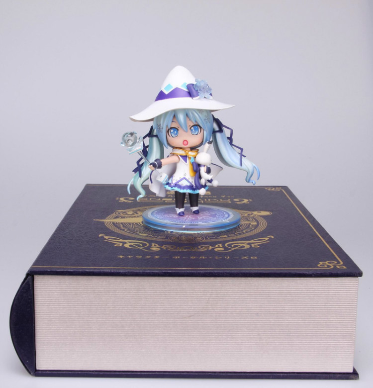 Anime Figure 10 CM Nendoroid VOCALOID Hatsune Miku Snow Miku Magical Snow Ver PVC Action Fifure Collection Toy Doll